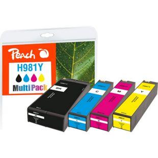 Peach Spar Pack Tintenpatronen kompatibel zu HP No. 981Y (wiederaufbereitet) - Bild 1