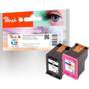 Peach Spar Pack Druckköpfe kompatibel zu HP C2P10AE, C2P11AE (wiederaufbereitet) - Bild 1