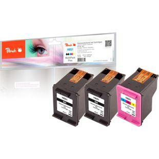 Peach Spar Pack Plus Druckköpfe kompatibel zu HP C2P10AE*2, C2P11AE (wiederaufbereitet) - Bild 1