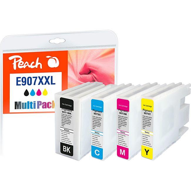 Peach Spar Pack XXL Tintenpatronen kompatibel zu Epson No. 907XXL - Bild 1