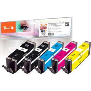 Peach Spar Pack Tintenpatronen XXL kompatibel zu Canon PGI-580XXL, CLI-581XXL (wiederaufbereitet) - Bild 1