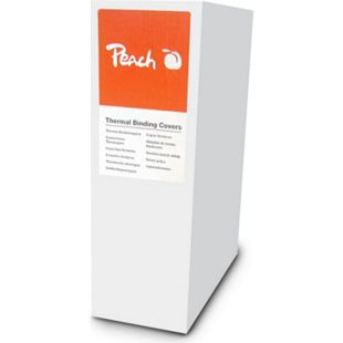 Peach Thermobindemappe weiss für je 120 Blätter (A4, 80g/m2), 80 Stück - PBT406-08 - Bild 1