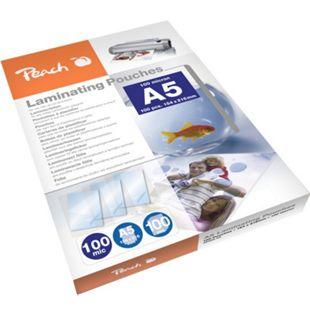 Peach Laminierfolien A5, 100 mic, glänzend, PP500-03, 100 Stk. - Bild 1