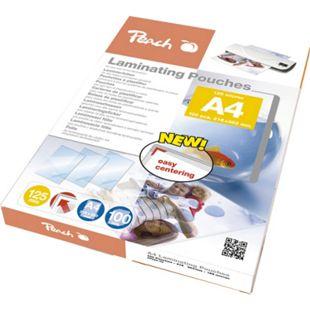 Peach Laminierfolien A4, 125 mic, glänzend, PP525-02, 100 Stk. - Bild 1
