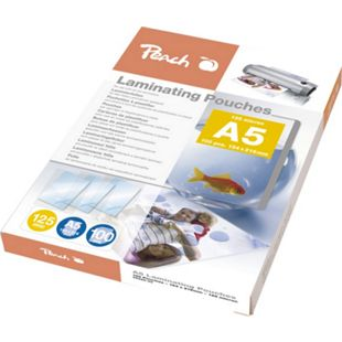 Peach Laminierfolien A5, 125 mic, glänzend, PP525-03, 100 Stk. - Bild 1