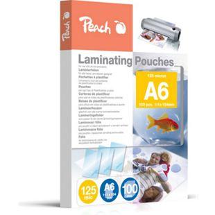 Peach Laminierfolien A6, 125 mic, glänzend, PP525-04, 100 Stk. - Bild 1