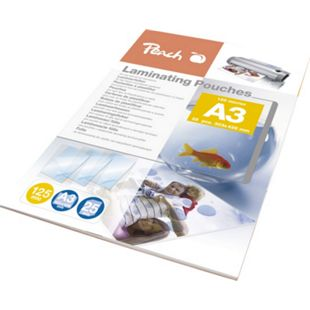 Peach Laminierfolien A3, 125 mic, glänzend, PPR525-01, 25 Stk. - Bild 1