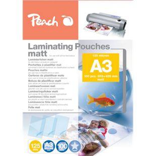 Peach Laminierfolien A3, 125 mic, matt, S-PP525-15, 100 Stk. - Bild 1