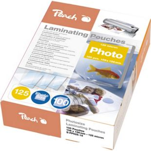 Peach Laminierfolien Photo 106 x 156mm, 125 mic, glänzend, S-PP525-19, 100 Stk. - Bild 1