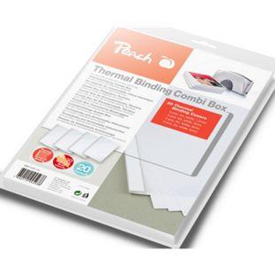 Peach Thermobindemappen Combi Box für 20 Bindemappen (je 15-60 Blatt A4, weiss) - PBT100-14 - Bild 1