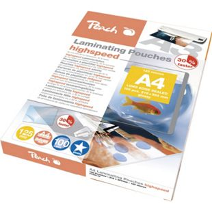 Peach HighSpeed Laminierfolien A4, 125 mic, express, PP525-22, 100 Stk. - Bild 1