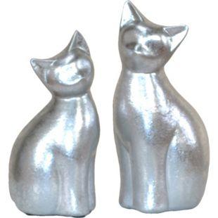 möbel direkt online Deko-Katzen (2 Stück) Mieze - Bild 1