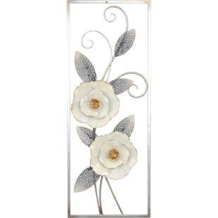 möbel direkt online Wanddekoration Blumenmotiv mit Verzierungen - Bild 1