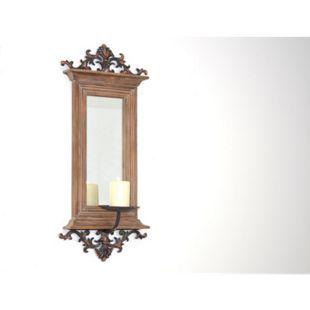 möbel direkt online Wandspiegel mit Kerzenhalter Waldi - Bild 1