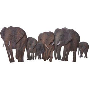 "möbel direkt online Wanddekoration ""Elefantenfamilie"" - Bild 1"