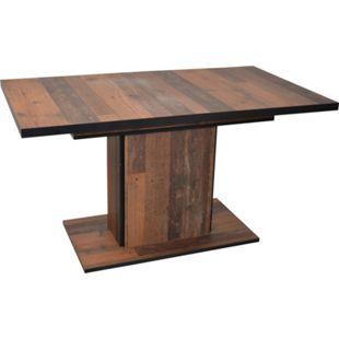 möbel direkt online Säulentisch 140-180 cm vergrößerbar Christian - Bild 1