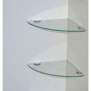 möbel direkt online Eck-Glasböden (2 Stück) Herry - Bild 1