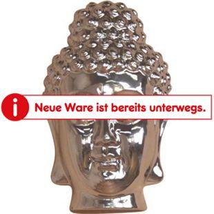 möbel direkt online Buddhamaske Silber - Bild 1