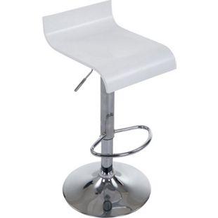 CLP Barhocker WOOD mit Metallgestell und Holzsitz I Höhenverstellbarer drehbarer Barstuhl mit Fußstütze I In verschiedenen Farben erhältlich - Bild 1