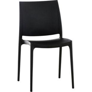 CLP XXL-Küchenstuhl MAYA I Wetterbeständiger Stapelstuhl bis zu 160 kg belastbar I In verschiedenen Farben erhältlich - Bild 1