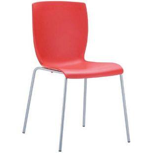 CLP XXL-Gartenstuhl MIO mit Aluminiumgestell und Kunststoffsitz I Stapelbarer Bistrostuhl mit einer Sitzhöhe von: 41 cm I In verschiedenen Farben erhältlich - Bild 1