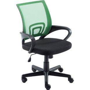 CLP Bürostuhl GENIUS mit Netzbezug | Höhenverstellbarer Drehstuhl mit Laufrollen und Armlehne - Bild 1