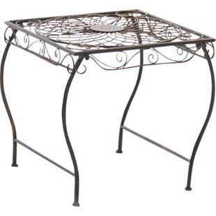 CLP Eisentisch ZARINA in nostalgischem Design I Robuster Gartentisch mit kunstvollen Verzierungen - Bild 1