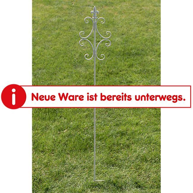 CLP Pflanzen-Rankstab BENITA aus Eisen I Rankhilfe mit einer Höhe von: 148 cm I Rankstange für Kletterpflanzen I In verschiedenen Farben erhältlich - Bild 1