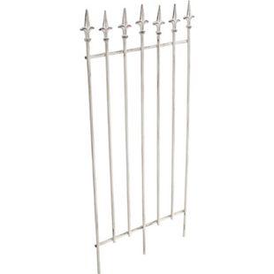 CLP Metall-Rankgitter ELISA I Größe: 100 x 50 cm, Stabstärke 0,7 cm I Rankhilfe für Kletterpflanzen I In verschiedenen Farben erhältlich - Bild 1