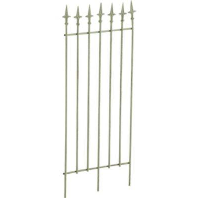CLP Metall-Rankgitter ELISA I Größe: 100 x 50 cm, Stabstärke 0,7 cm I Rankhilfe für Kletterpflanzen I In verschiedenen F