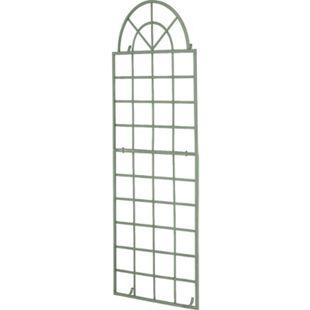 CLP Wand-Rankgitter VIVA mit Rahmen I Rankgitter aus Eisen zur Wandbefestigung I In verschiedenen Farben erhältlich - Bild 1
