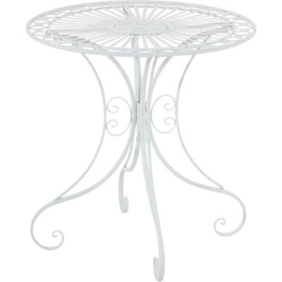 CLP Eisentisch HARI im Jugendstil I Gartentisch mit kunstvollen Verzierungen I In verschiedenen Farben erhältlich
