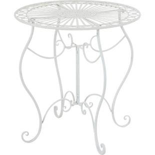 CLP Eisentisch INDRA in nostalgischem Design I Gartentisch mit geschwungenen Beinen I In verschiedenen Farben erhältlich - Bild 1