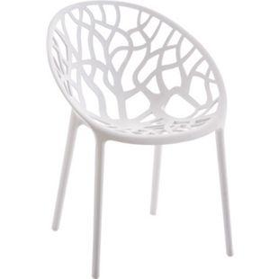 CLP Gartenstuhl HOPE aus Kunststoff I Wetterbeständiger Stapelstuhl mit einer max. Belastbarkeit von 150 kg I In verschiedenen Farben erhältlich - Bild 1