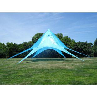CLP Sternzelt 10 Meter I Event-Zelt Mit 10 Meter Durchmesser I Gartenzelt In Vielen Farben | Überdachte Zeltfläche Von Ca. 15 M²... blau - Bild 1