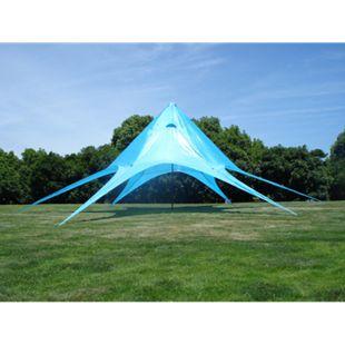 Sternzelt 14M | XL-Sternzelt Für Den Garten I Event-Zelt Mit 14 Meter Durchmesser I Überdachten Zeltfläche Von Ca. 40 M² I In Vielen Farben... blau - Bild 1