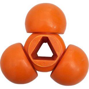 Dreistern für Profi Orangensaftpresse I Ersatzsteil für elektrischen Entsafter... orange - Bild 1