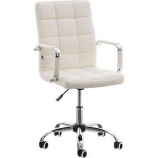 CLP Bürostuhl DELI V2 mit Kunstlederbezug und hochwertiger Polsterung I Drehstuhl mit höhenverstellbarer Sitzhöhe - Bild 1