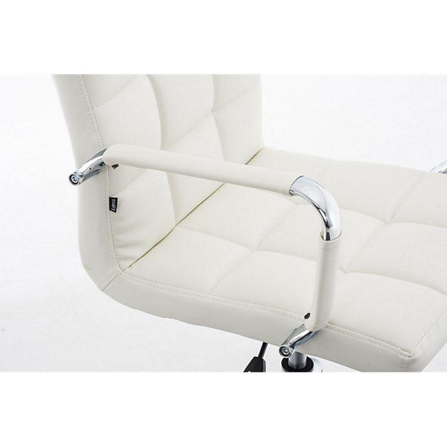 CLP Bürostuhl DELI V2 mit Kunstlederbezug und hochwertiger Polsterung I Drehstuhl mit höhenverstellbarer Sitzhöhe