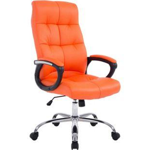 CLP XXL Bürostuhl POSEIDON mit Kunstlederbezug | Höhenverstellbarer Drehstuhl mit Laufrollen | Chefsessel mit max.Tragkraft bis zu 160 kg - Bild 1