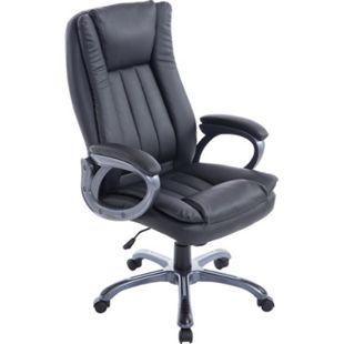 CLP Bürostuhl XXL Bern Mit Kunstleder | Ergonomischer Bürosessel Mit Verstellbarer Sitzhöhe | Drehstuhl Mit Laufrollen - Bild 1