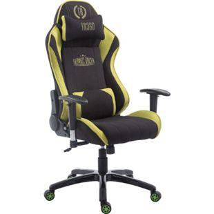CLP Racing Bürostuhl Shift XL l Gamingstuhl Mit Stoffbezug Und 150 KG Belastbarkeit l Höhenverstellbarer Drehstuhl Mit Leichtlaufrollen - Bild 1
