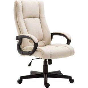 CLP Bürostuhl XL SPARTA mit Stoffbezug | Drehbarer Chefsessel mit Wippmechanismus | Drehstuhl mit Armlehnen l Max. Belastbarkeit 140 kg - Bild 1