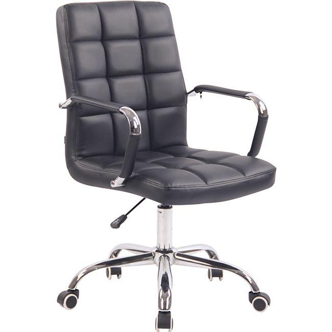 CLP Bürostuhl DELI mit Kunstlederbezug und hochwertiger Polsterung I Drehstuhl mit höhenverstellbarer Sitzhöhe - Bild 1