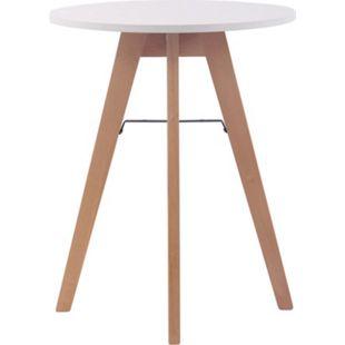 CLP Küchentisch Viktor I Esstisch Mit MDF Tischplatte I Bistrotisch Mit Buchenholzgestell - Bild 1