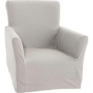 CLP Ersatzhusse für Sessel Vivian, Schonbezug, Sesselbezug, Sesselüberwurf, Bezug aus Baumwolle und Leinen - Bild 1