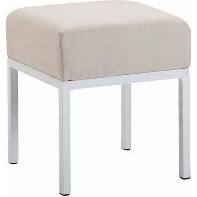 CLP Sitzhocker NEWTON mit Stoffbezug I Hocker mit Metallgestell und einer Sitzhöhe von: ca. 46 cm I In verschiedenen Farben erhältlich - Bild 1