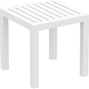 CLP Beistelltisch Ocean I Wetterfester Gartentisch aus UV-beständigem Kunststoff I witterungsbeständiger Tisch - Bild 1