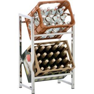CLP Getränkekistenständer LENNERT I Platzsparender robuster Kistenständer für Getränkekisten I Verschiedene Ausführungen - Bild 1
