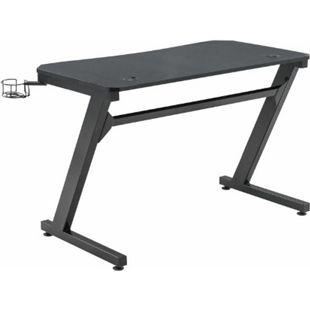 CLP Gaming Tisch Torrance I Computertisch Mit Z-Trägern I Schreibtisch Mit Kopfhörerhalterung - Bild 1